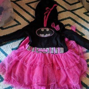 3T girls Batman outfit